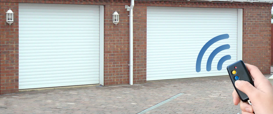 Fully Remote Controlled Roller Shutter Garage Doors